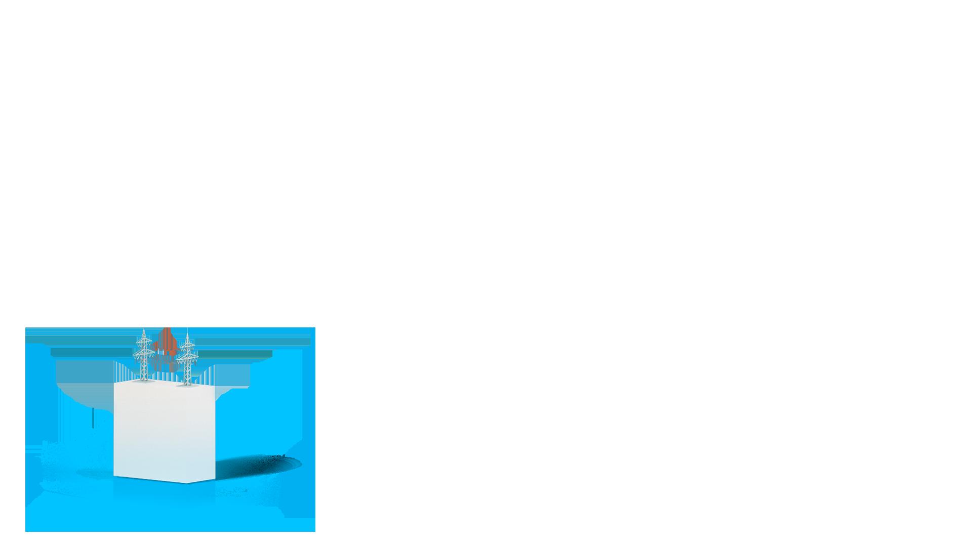 Stele Freileitungen