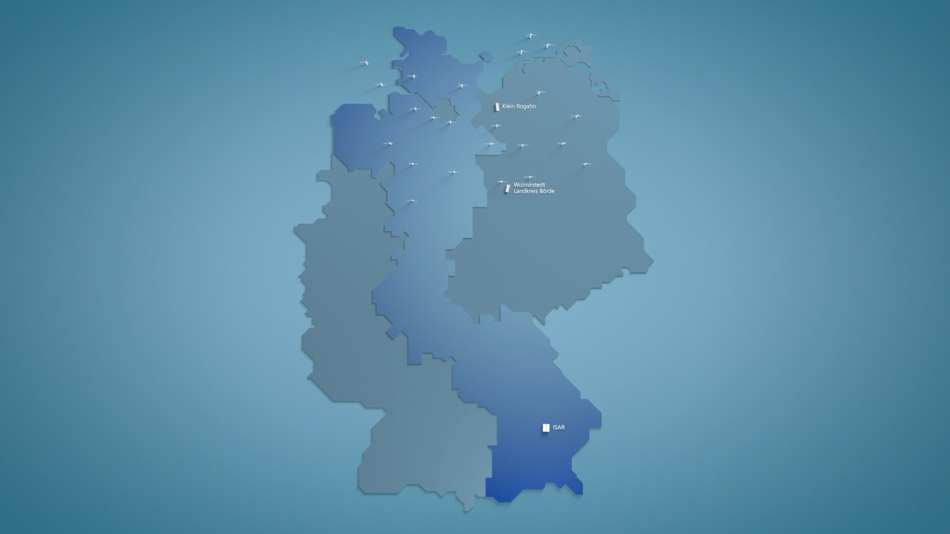 TenneT Gebiet Deutschland