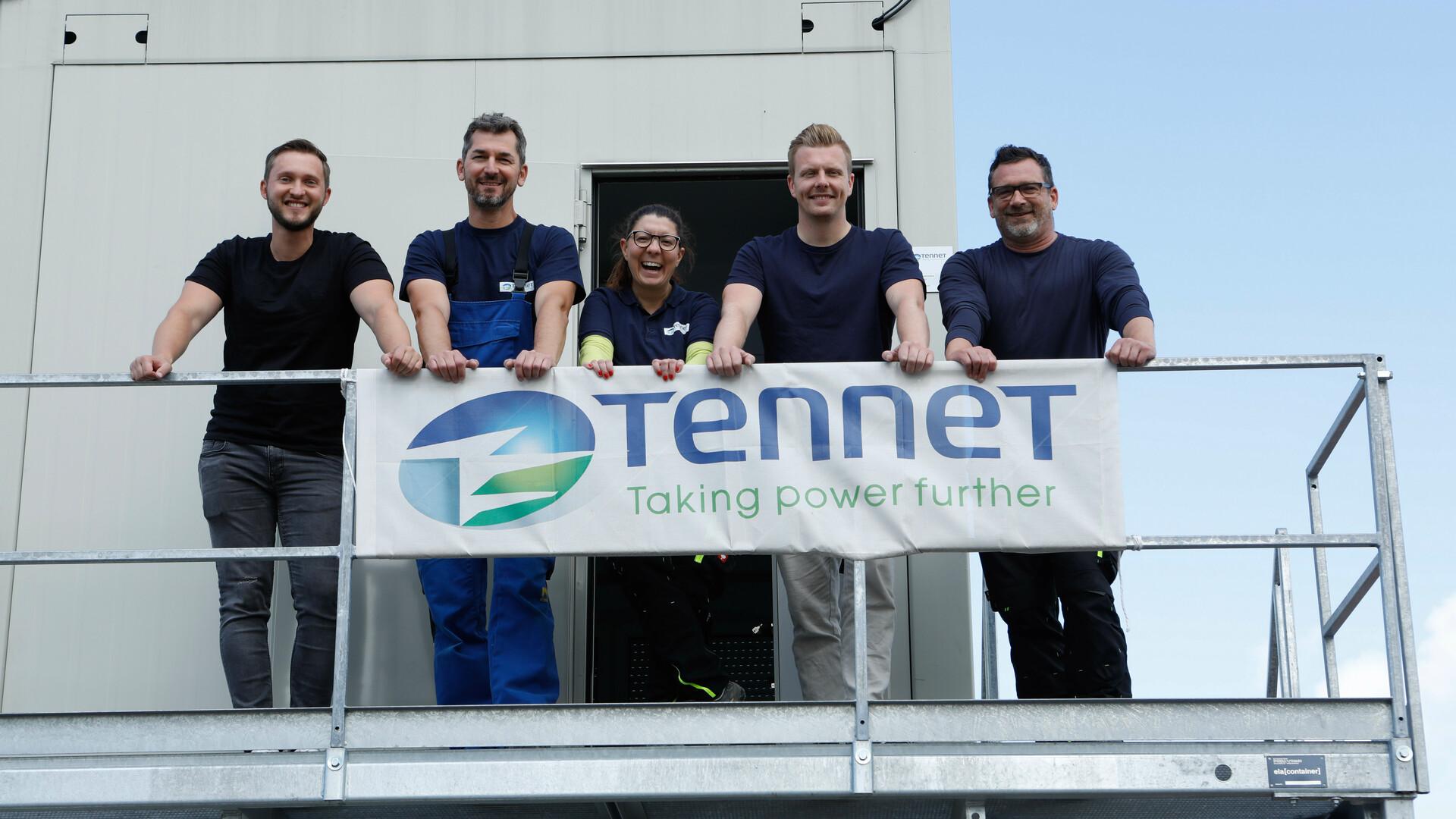 Das TenneT-Team