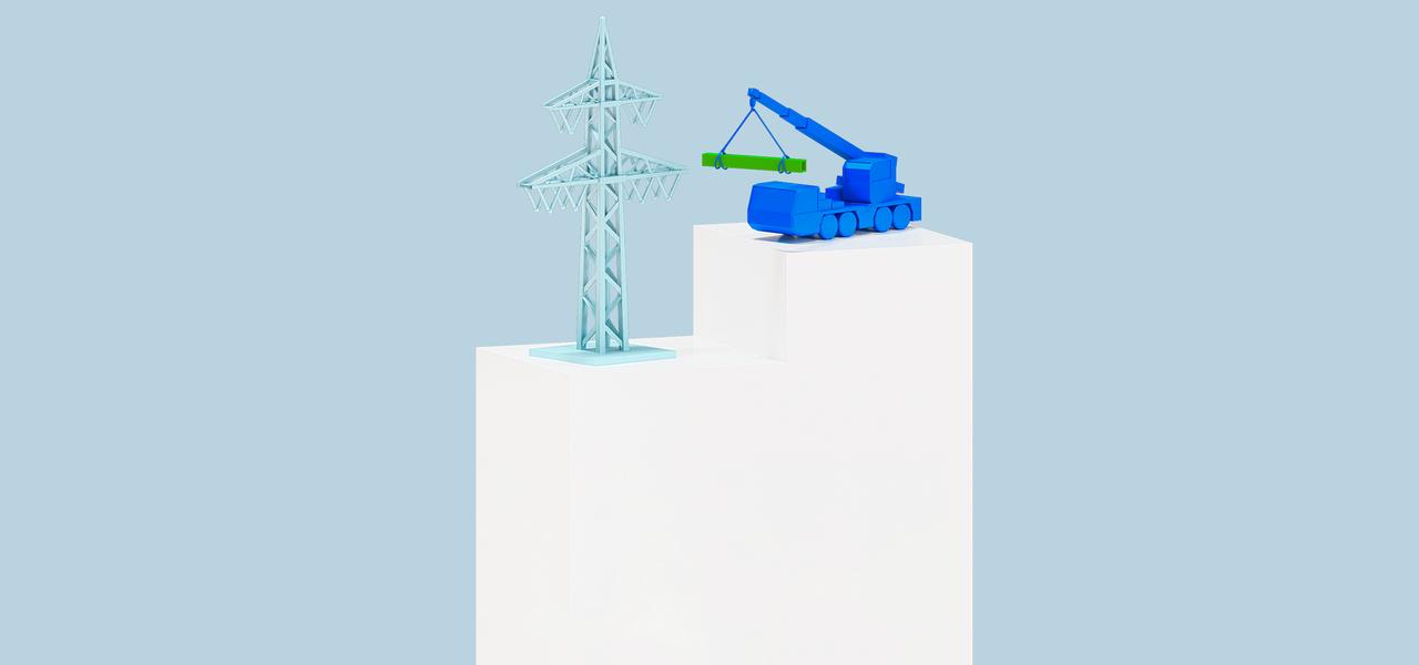 Bau und Rückbau Closeup