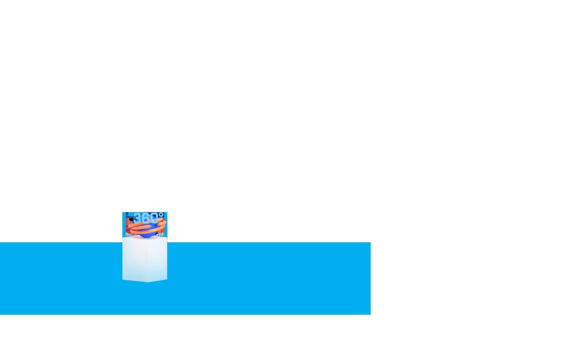 Stele mit 360 Grad Icon